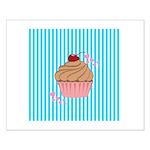 Pink Cupcake Love Posters