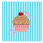Pink Cupcake Love Invitations