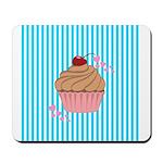 Pink Cupcake Love Mousepad