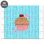 Pink Cupcake Love Puzzle