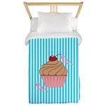 Pink Cupcake Love Twin Duvet