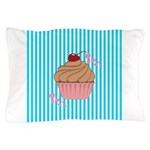 Pink Cupcake Love Pillow Case