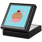 Pink Cupcake Love Keepsake Box