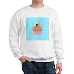 Pink Cupcake Love Sweatshirt