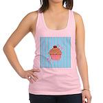 Pink Cupcake Love Racerback Tank Top