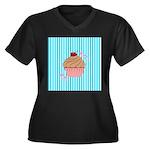 Pink Cupcake Love Plus Size T-Shirt
