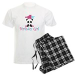 1st Birthday Girl Panda Bear Pajamas
