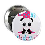 1st Birthday Girl Panda Bear 2.25