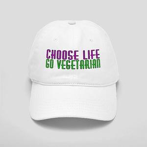 Choose life. Go vegetarian - Cap