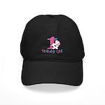 1st Birthday Girl Cow Baseball Hat