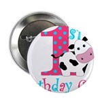 1st Birthday Girl Cow 2.25