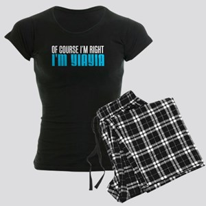 I'm Right I'm YiaYia Pajamas