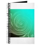 Teal Swirl Journal