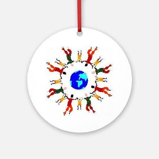 Kids_world Ornament (Round)