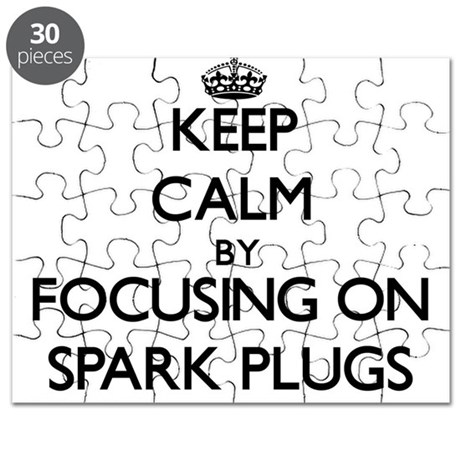 ngk puzzles cafepress NGK BUHW Mercury Outboard keep calm by focusing on spark plugs puzzle