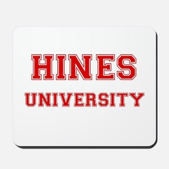 HINES UNIVERSITY Mousepad