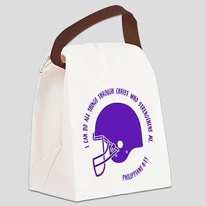 PHILIPPIANS 4:13 Canvas Lunch Bag