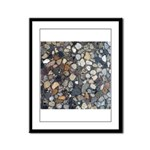 Rocks Framed Panel Print