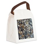 Rocks Canvas Lunch Bag