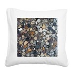 Rocks Square Canvas Pillow