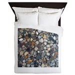Rocks Queen Duvet