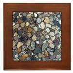 Rocks Framed Tile