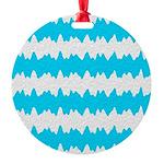 Teal Ornament