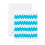 Teal Greeting Cards