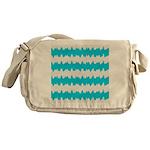 Teal Messenger Bag