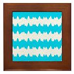 Teal Framed Tile