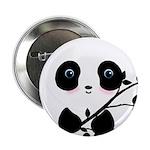 Black and White Panda Bear 2.25