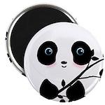 Black and White Panda Bear Magnets