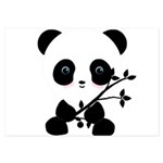 Black and White Panda Bear Invitations