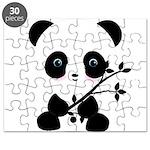 Black and White Panda Bear Puzzle