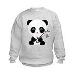 Black and White Panda Bear Sweatshirt