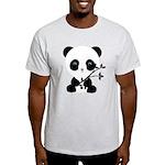 Black and White Panda Bear T-Shirt