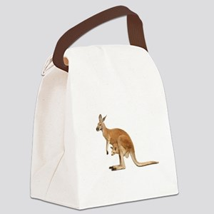 kangaroo Canvas Lunch Bag