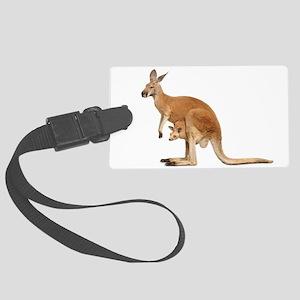 kangaroo Large Luggage Tag