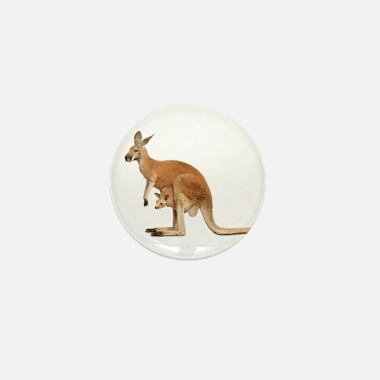 kangaroo Mini Button