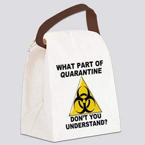 Quarantine Canvas Lunch Bag