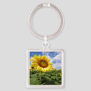 Sunflower Garden Keychains