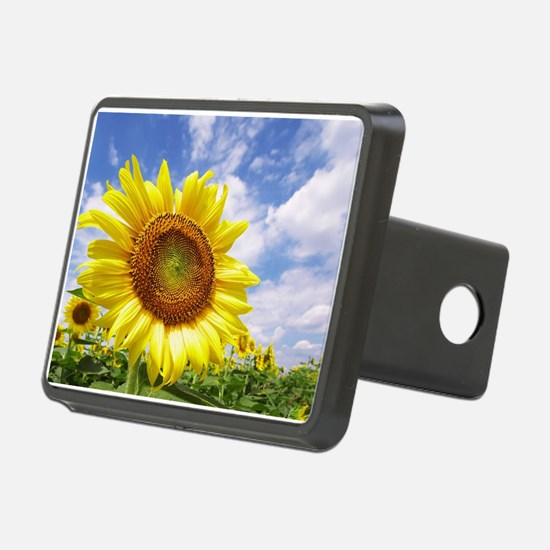 Sunflower Garden Hitch Cover