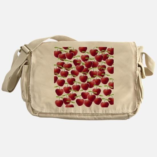 Cherry Pie Messenger Bag