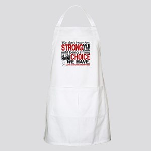 Lung Cancer HowStrongWeAre Apron