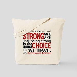 Retinoblastoma HowStrongWeAre Tote Bag
