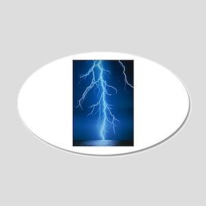 Lightning Strike Wall Decal