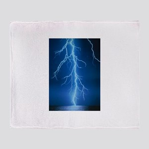 Lightning Strike Throw Blanket