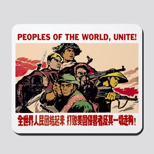Peoples of the World, Unite! Mousepad