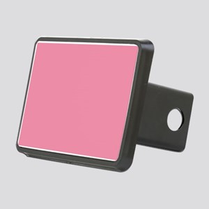 Salmon Pink Solid Color Hitch Cover