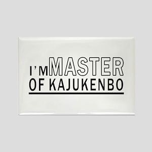 I Am Master Of Kajukenbo Rectangle Magnet